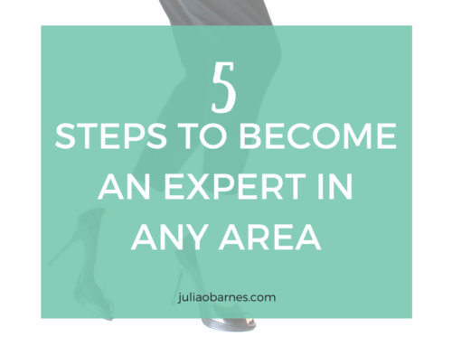 5 SIMPLE STEPS TO BECOME AN EXPERT IN ANY AREA