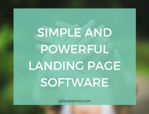 CREATE SIMPLE AND POWERFUL LANDING PAGES